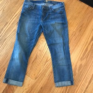 Seven for all mankind capree jeans